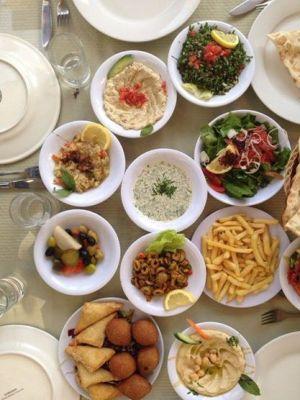 Jordanian mezze. By Huda Aziz.