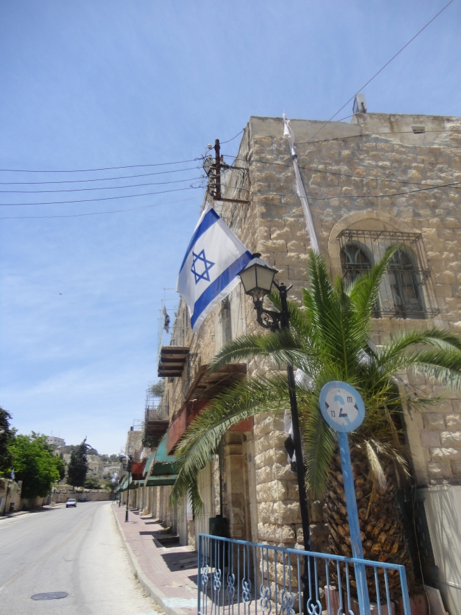 Settlement in Hebron.