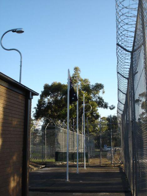 Villawood detention centre.