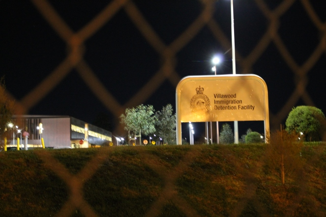 Villawood detention centre.