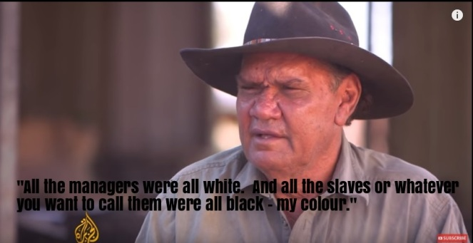 As a a boy and a young man, Trevor Bedford worked on horseback - on cattle stations run   by Western Australia's government. From 4am to midnight, he'd break in horses, fix fences and round up cows.  His 'pay'?  A ration of food, somewhere to sleep and a tiny cash allowance for drinks; 'slave wages'.